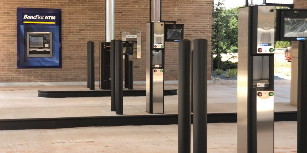bancfirst Installation project completed by black mesa security
