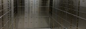 bank vault installed by black mesa security