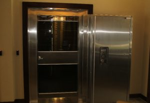 bank vaults and vault doors installed by black mesa security