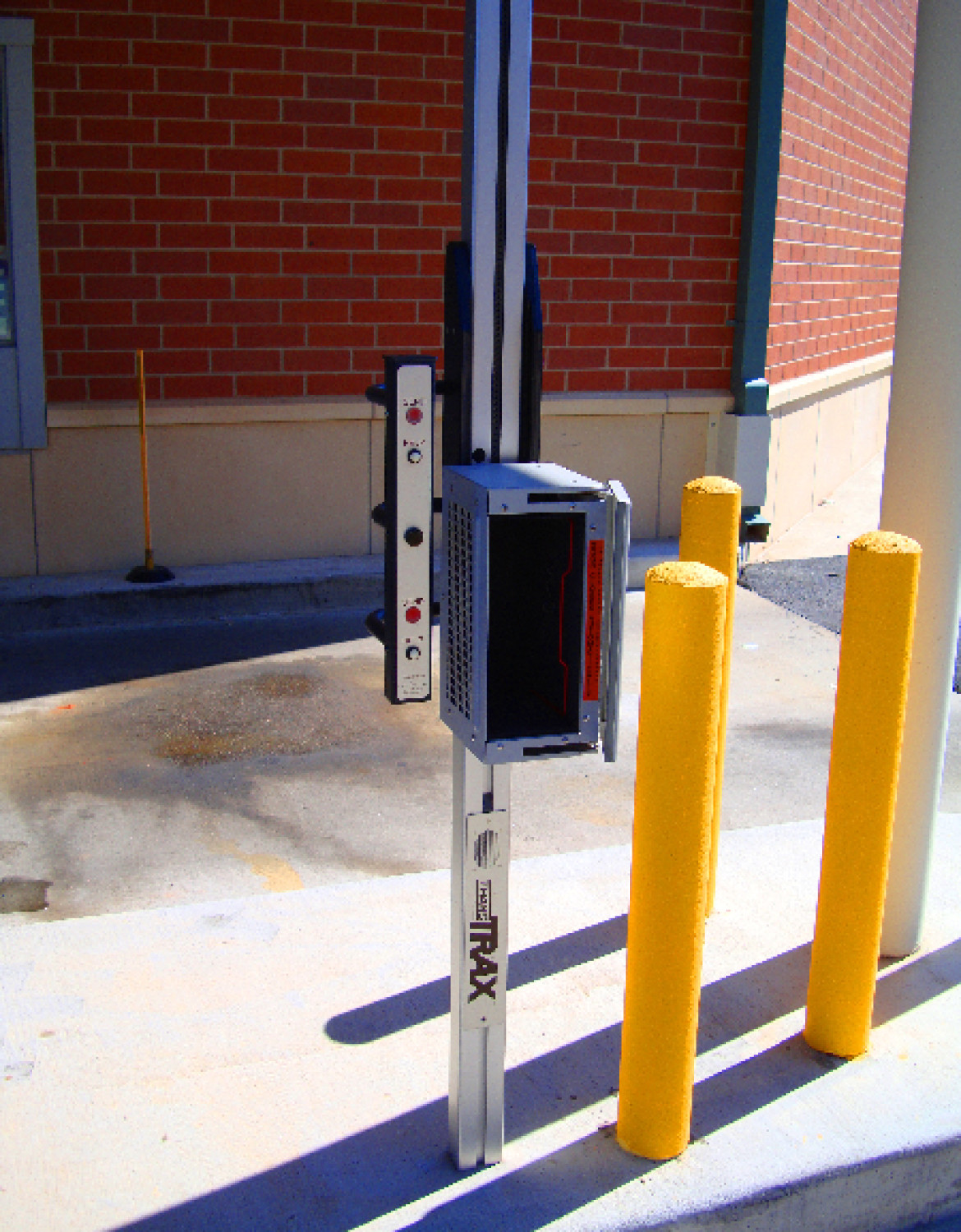 Pharmacy drive-up system installed by black mesa security
